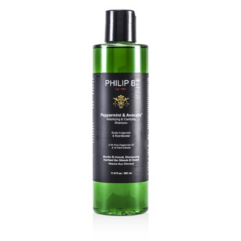 Peppermint & Avocado Volumizing & Clarifying Shampoo  350ml/11.8oz
