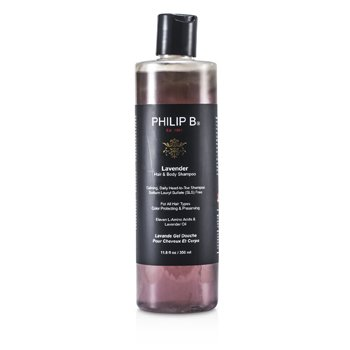 Lavender Hair & Body Shampoo (For All Hair Types, Color Protecting & Preserving)  350ml/11.8oz