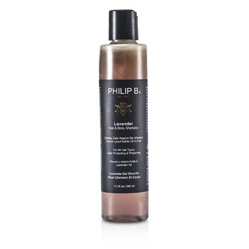 Lavender Hair & Body Shampoo (For All Hair Types, Color Protecting & Preserving)  220ml/7.4oz