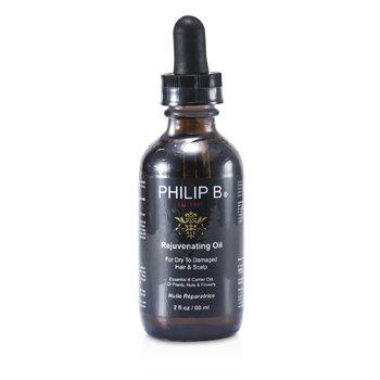 Philip B Aceite Rejuvenecedor (Cabellos y Cueros cabelludos secos y estropeados)  60ml/2oz