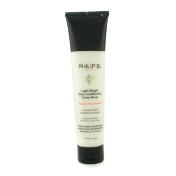 Philip B Light-Weight Deep Conditioning Crema de Enjuague  ( Fórmula sin Paraben)   178ml/6oz