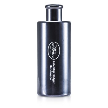 Podróżny pędzel do golenia z sierści borsuka Turnback Silvertip Badger Travel Brush - Black  1pc
