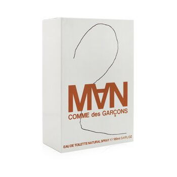 2 Man Eau De Toilette Spray  100ml/3.3oz