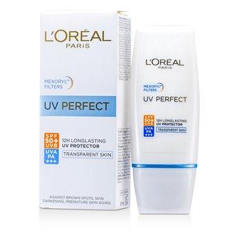 L'Oreal �ѹᴴ Dermo-Expertise UV Perfect Long Lasting UVA/UVB SPF50 PA+++ - #Transparent Skin  30ml/1oz