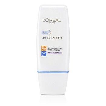 Dermo-Expertise UV Perfect pitkäkestoinen UVA/UVB suoja SPF50 PA+++ - #Anti-Dullness  30ml/1oz