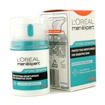 L'Oreal Creme hidratante Men Expert Hydra Sensitive Multi-Protection 24 HR   50ml/1.6oz