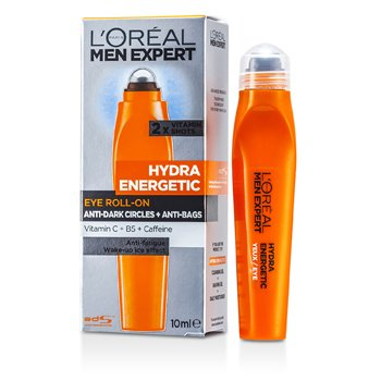 L'Oreal Men Expert Hydra Roll-on En�rgico Ojos  10ml/0.33oz