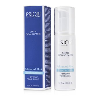 Priori Advanced AHA Pembersih Muka Jenis Lembut  180ml/6oz