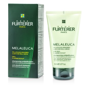 Rene Furterer Melaleuca Anti-Dandruff Shampoo (For Oily, Flaking Scalp)  150ml/5.07oz