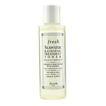 Seawater & Ginseng Treatment Toner - Normal to Combination  125ml/4.23oz