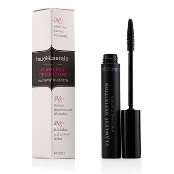BareMinerals Voděodolná řasenka BareMinerals Flawless Definition Waterproof Mascara - Black 49568  10ml/0.33oz