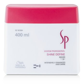 Wella Maska do włosów nadająca połysk SP Shine Define Mask (Enhances Hair Shine)  400ml/13.33oz