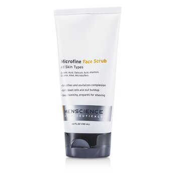 Menscience Microfine Face Scrub  130ml/4.4oz