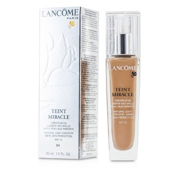 Lancôme Base liquida Teint Miracle Natural Light Creator SPF 15 - # 04 Beige Nature  30ml/1oz