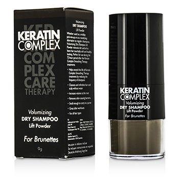 Keratin Complex Care Therapy Champ� Seco Volumizante Lift Powder - # Casta�os  9g/0.3oz