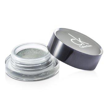 Calvin Klein Tempting Glimmer Sheer Creme Pewarna Mata - #305 Snakeskin Silver ( Tanpa Box )  2.5g/0.08oz