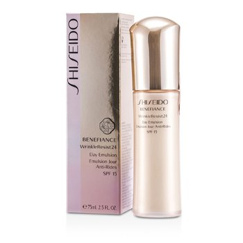 Shiseido Benefiance WrinkleResist24 Day Emulsion SPF 15  75ml/2.5oz