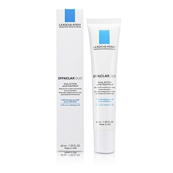 La Roche Posay Effaclar Duo Dual Action Acne Treatment  40ml/1.35oz