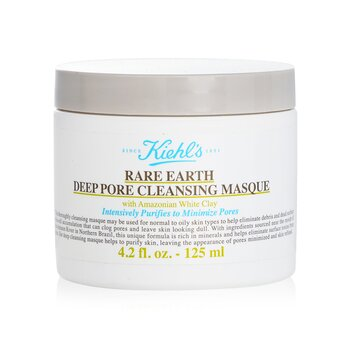 Kiehl's Rare Earth Deep Pore Cleansing Masque  142g/5oz