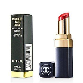 ชาแนล ลิปไชน์บำรุงให้ความชุ่มชื่น Rouge Coco - # 44 Sari D'Eau 173440  3g/0.1oz