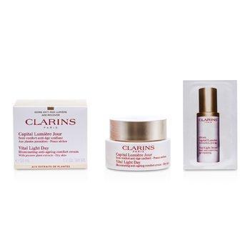 Clarins Creme Vital Light Day Illuminating Anti-Envelhecimento Comfort  50ml/1.7oz