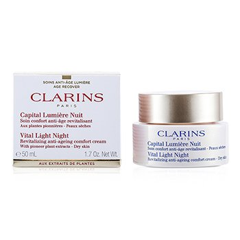 Clarins Vital Light Night Revitalizing Anti-Aging Comfort Cream  50ml/1.7oz
