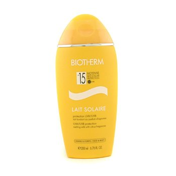 Biotherm Ochronne mleczko do opalania Lait Solaire SPF 15 UVA/UVB Protection Melting Milk  200ml/6.76oz