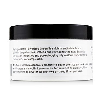 Facial Cleaning Mask - Green Tea And Clay  90g/3oz