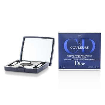Christian Dior 5 Color Couture Colour Sombra de Ojos Paleta - No. 034 Gris Gris  6g/0.21oz