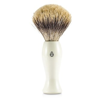 Shave Brush Fine - White  1pc