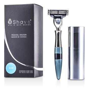 EShave 3 Blade Maquinilla Afeitado Viaje - Blue  1pc
