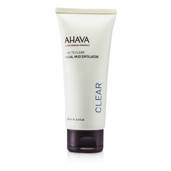 Ahava Time To Clear Exfoliante Musgo Facial  100ml/3.4oz