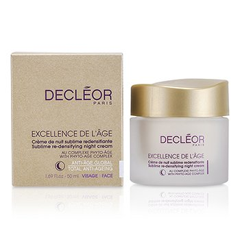 Decleor Excellence De L'Age Sublime Re-Densifying Creme Noturno  50ml/1.69oz