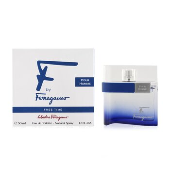 F by Ferragamo Free Time Eau De Toilette Spray  50ml/1.7oz