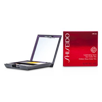 Shiseido Trío Color de Ojos Satinados Iluminadores - # OR302 Fire  3g/0.1oz
