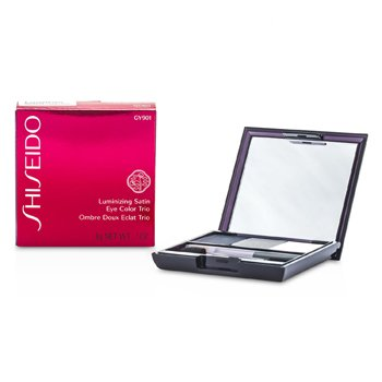 Shiseido Luminizing Satin Eye Color Trio - # GY901 Snow Shadow  3g/0.1oz