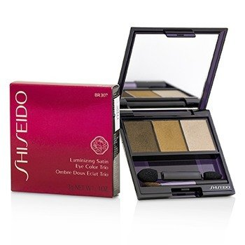 Shiseido Luminizing Satin Eye Color Trio - # BR307 Strata  3g/0.1oz