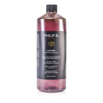 Lavender Hair & Body Shampoo (For All Hair Types, Color Protecting & Preserving)  947ml/32oz