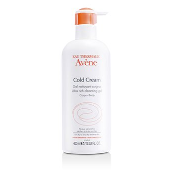 Avene Cold Cream Ultra Rich Cleansing Gel  400ml/13.52oz