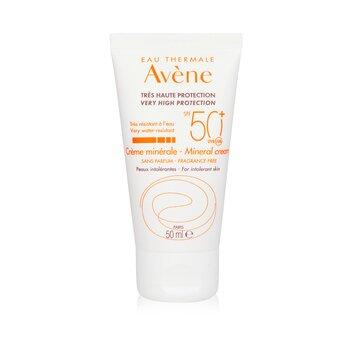 Avene High Protection Mineral Cream SPF 50  50ml/1.94oz