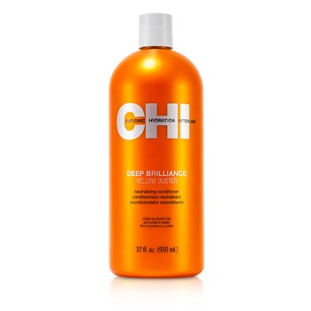CHI Deep Brilliance Yellow Buster Neutralizing Conditioner  950ml/32oz