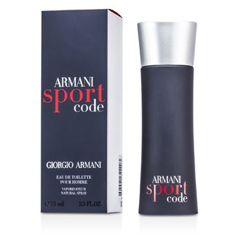 Armani Code Sport Eau De Toilette Spray  75ml/2.5oz