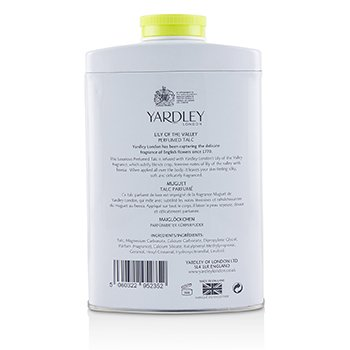 Lily Of The Valley Pefrumed Talc  200g/7oz