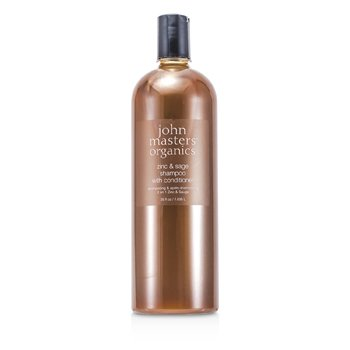 Zinc & Sage Shampoo With Conditioner  1035ml/35oz