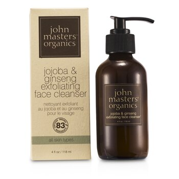Jojoba & Ginseng Exfoliating Face Cleanser 118ml/4oz