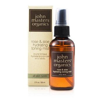 John Masters Organics Rose & Aloe Bruma Tónica Hidratante  59ml/2oz