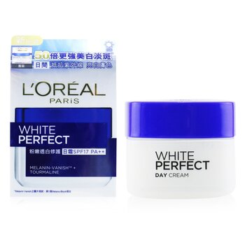 Dermo-Expertise White Perfect Fairness Control Moisturizing Cream Day SPF17 PA++  50ml/1.7oz