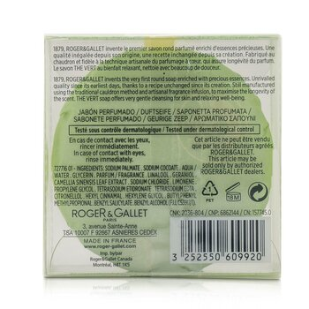 Green Tea (The Vert) Perfumed Soap  100ml/3.5oz