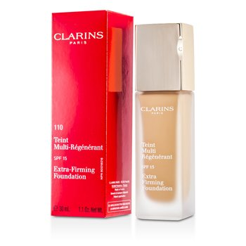 Clarins Base Maquillaje Extra Reafirmante SPF 15 - 110 Honey  30ml/1.1oz