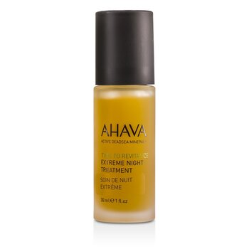 Ahava Tratamento noturno Time To Revitalize Extreme  30ml/1oz
